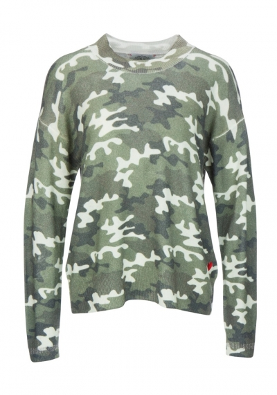 FROGBOX - PULLOVER - CAMOUFLAGE - GRÜN - 888065