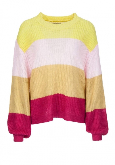 FROGBOX - PULLOVER - COLOR BLOCKING - 888055