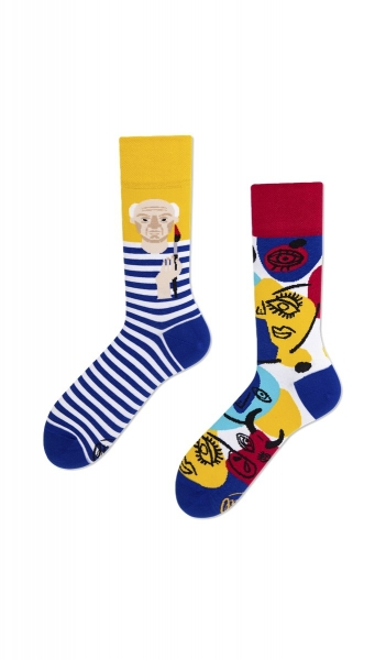 MANY MORNINGS SOCKS - SOCKEN  - GEMUSTERT - PICASSO - REGULAR