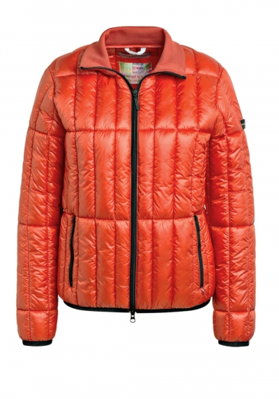 Steppjacke - Thermolite - orange -  Stehkragen - Frieda & Freddies - 9700