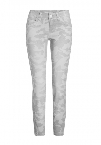 Cambio - Jeans - Love - Camouflage - sand - 7753